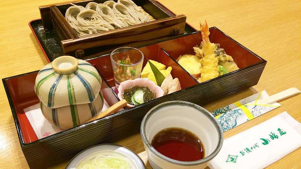 海老入り天ぷらコース(1680円)